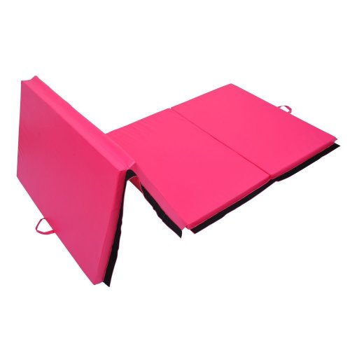 Homcom Folding Gym Exercise Mat Foam Yoga Pilates Workout