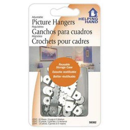FAUCET QUEEN 50302 Adj.Picture Hanger Case of 3