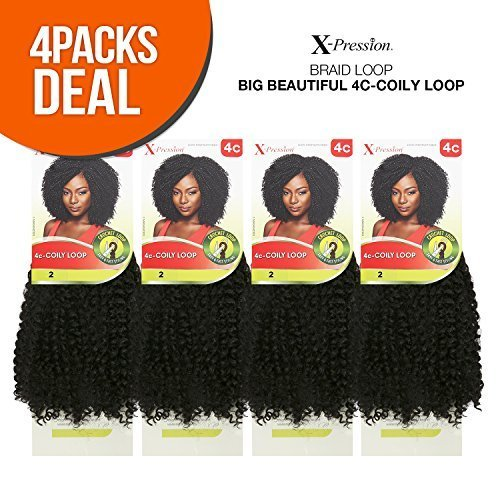 Outre Synthetic Hair Crochet Braids Xpression Braid 4ccoily Loop