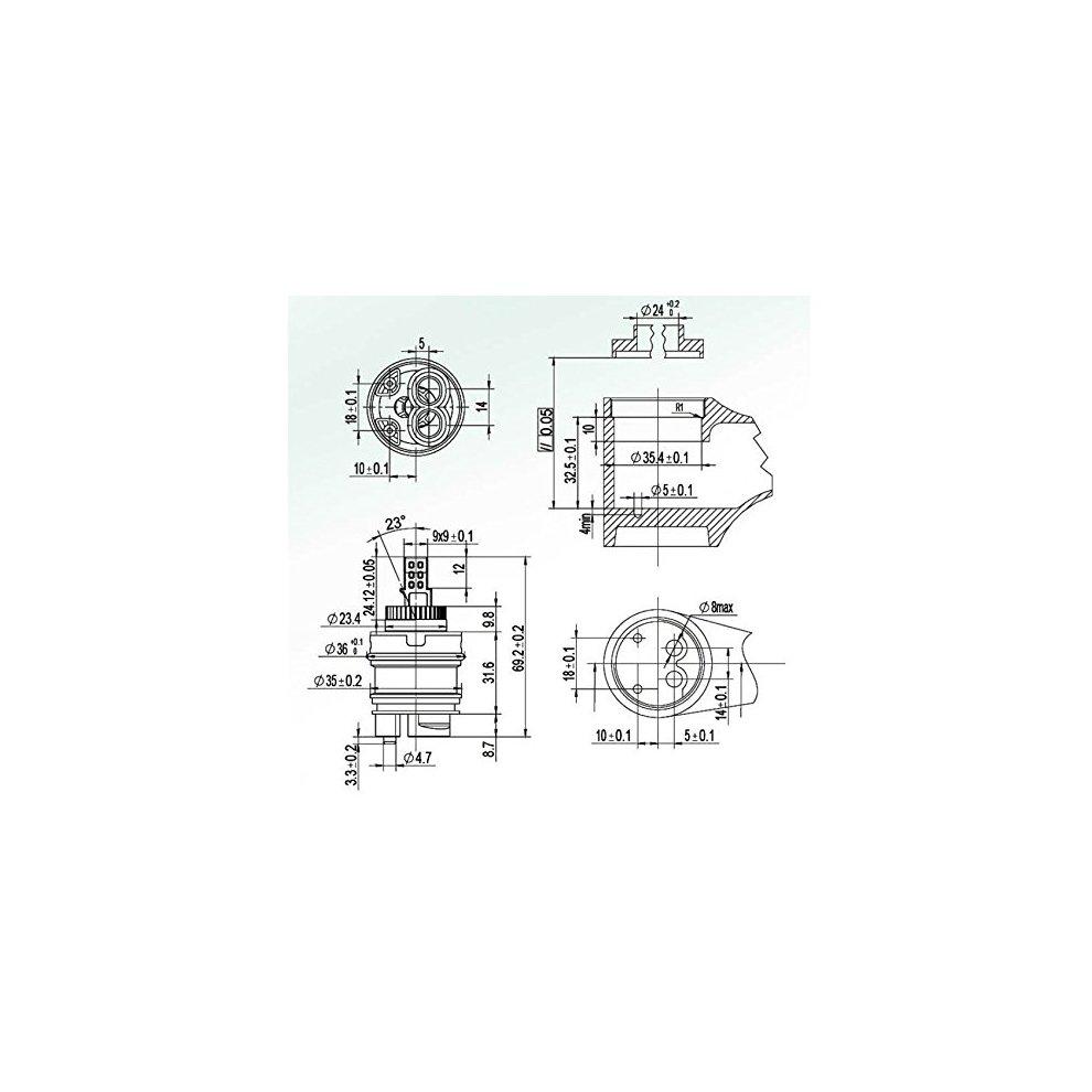 20A 480W Power Supply Voltage Step Down Changer Adapter Regulator Module Blackr DC36V//48V To 24V Buck Converter