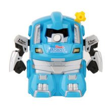 Cute Robot Manual Pencil Sharpener for Office and Classroom ( Blue )