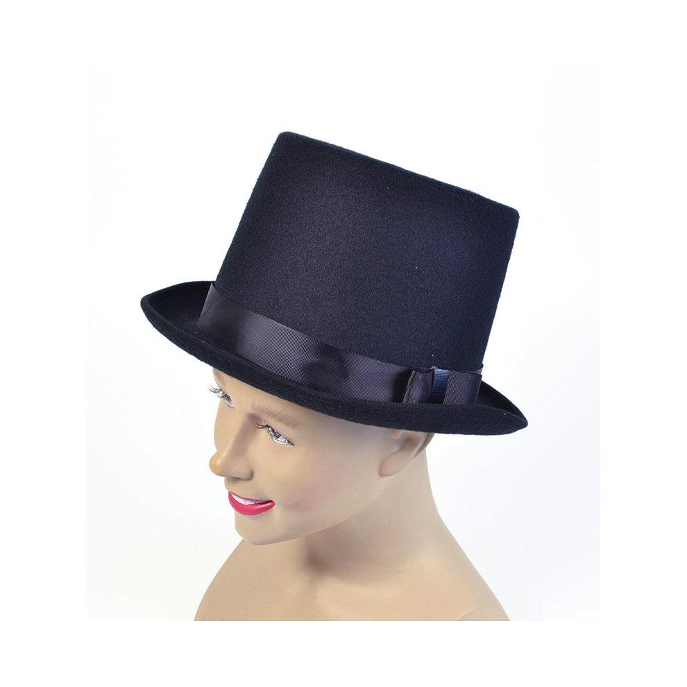 New Black Flock Bowler Hat
