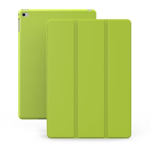 iPad Mini 4 Case - KHOMO® Dual Green Case iPad Mini 4 - Ultra Slim Lightweight with Stand and Magnetic Smart Cover Auto Wake Sleep On / Off...