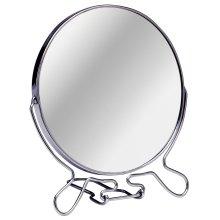 2 Way Swivel Free Standing Shaving Mirror, Large - Silver