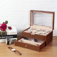 Songmics JWB007 Watch-Holder Case for 10 Watches