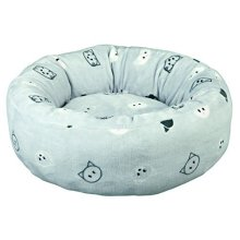 Trixie Mimi Bed, 50 Cm, Light Grey - Bed Cat Soft Plush Removable Cover -  mimi bed cat soft plush removable cover reversible cushion nonslip trixie