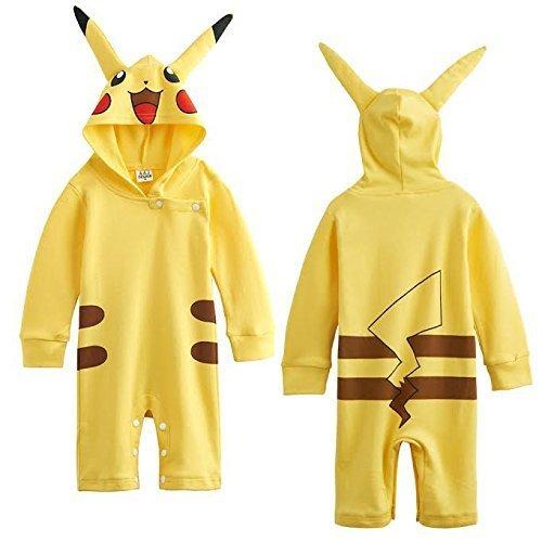 Pikachu-inspired Baby Infant Pokemon Costume