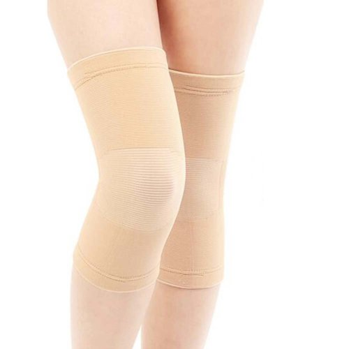 Sport Knee Compression Support Sleeve Knee Pads Knee Protector Brace(Pair), A5