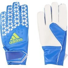 Adidas Ace Junior Goalkeeper Gloves Blue/White Size 4