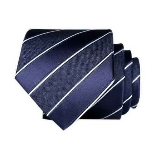 Classic Men's Business Necktie, Royal Blue Twill Necktie For Wedding Party Groom