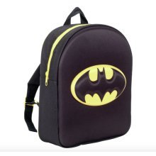OFFICIAL BATMAN LOGO 3D EVA BOYS JUNIOR BACKPACK RUCKSACK SCHOOL BAG NEW