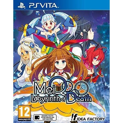 MeiQ-Labyrinth of Death PlayStation Vita Game - German