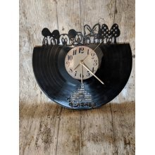 Minnie And Friends Vinyl Record Clock home decor gift