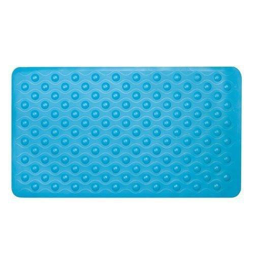 Sabichi Aqua Suction Grip Rubber Bath Mat With Cosy Bubble Foot Grip -  mat rubber bath non slip suction shower bubble grip sabichi bathroom anti