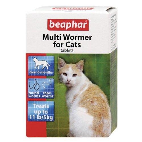Beaphar Cat Multiwormer 12 Tablets (Pack of 6)