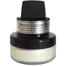 Cosmic Shimmer Metallic Gilding Polish-Enchanted Gold