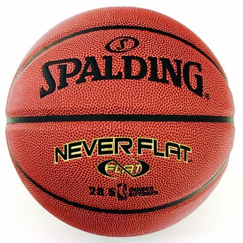 Spalding Never Flat Intermediate Size Basketball