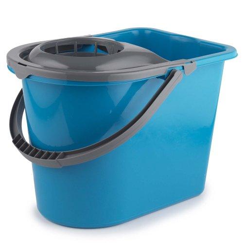 Beldray LA036810TQ Large Mop Bucket, 14 Litre, Turquoise