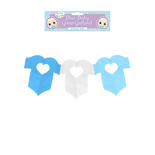 Decoration Garland Baby Grow Blue 2.6m