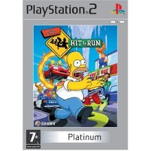 The Simpsons - Hit and Run - The Simpsons: Hit & Run Platinum (PS2)
