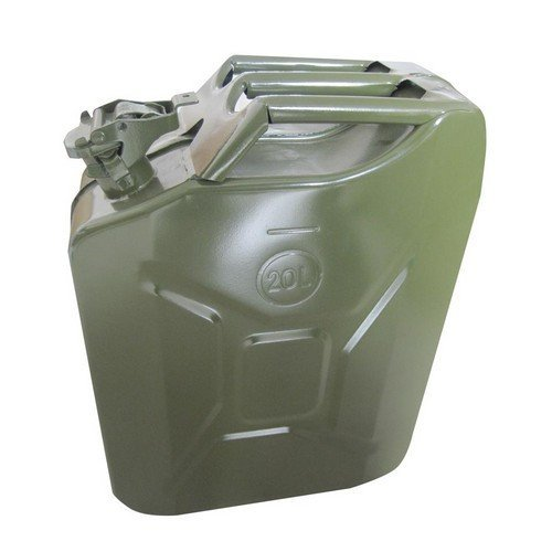 Hilka 84700120 Jerry Can Steel Construction 20 Litre