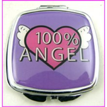 100% Angel Compact Mirror