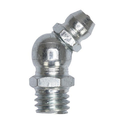 """Sealey GNI10 Grease Nipple 45° 1/4""""UNF Pack of 25"""