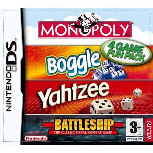 Hasbro Compilation - Hasbro Compilation: Monopoly/Boggle/Yahtzee/Battleships (Nintendo DS)