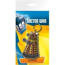 Doctor Who Dalek Illustration Keyring