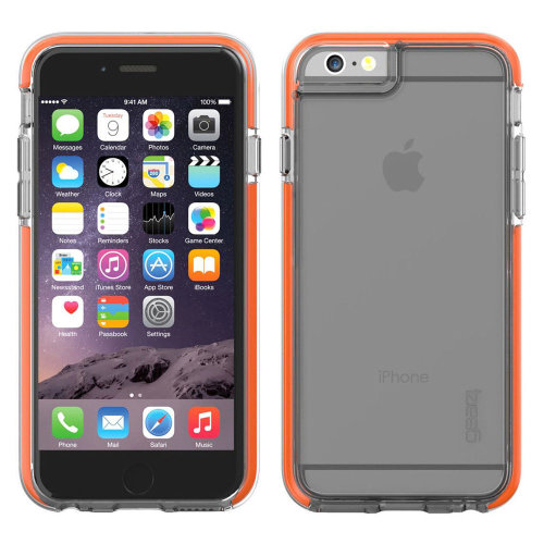 Clear D3O Icebox Shock Case Cover For iPhone 6/6S Impact Protection by Gear4