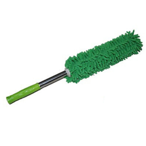 Cleaning Supplies Retractable Chenille Yarn Car Duster/Dust brush,GREEN