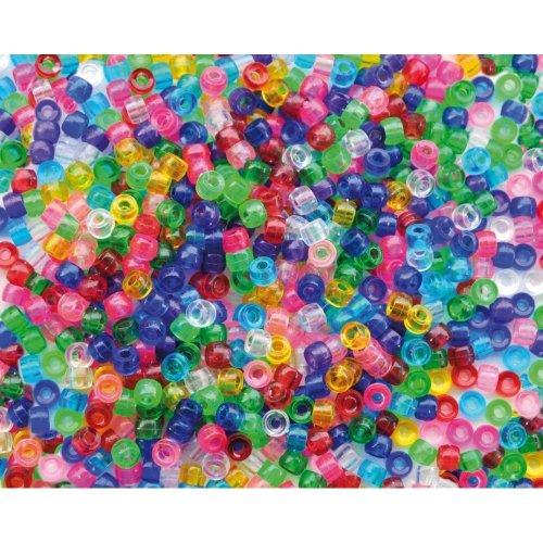 Pbx2470718 - Playbox - Plastic Beads (kongo ) Transparent - 1000 Pcs
