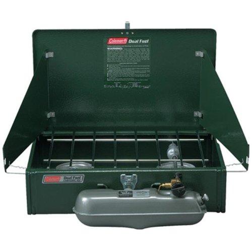 Coleman 110588 2 Burner Dual Fuel Standard Stove