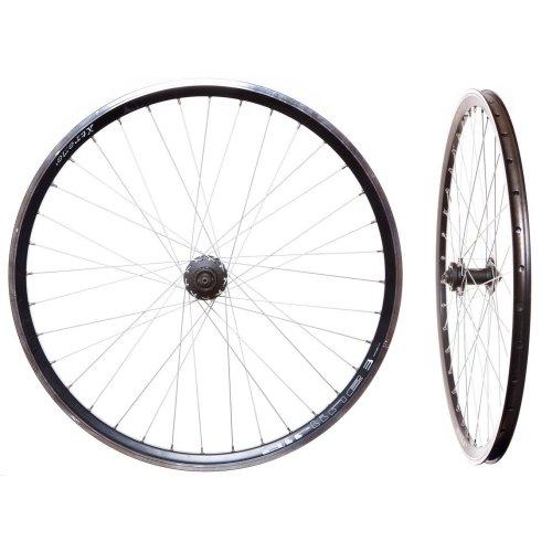 Rodi AIRLINE 3 Bicycle Bike 700C 29er WHEELSET BLACK DISC 7/8/9 CASSETTE HUBS