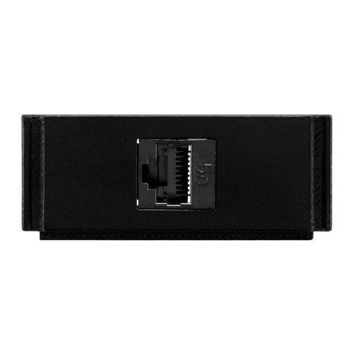 AMX HPX-N100-RJ45 Black outlet box
