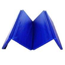 Homcom Foldable Gym Yoga Fitness-blue