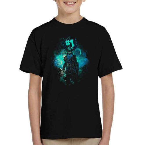 Rognarock Art Fortnite Kid's T-Shirt