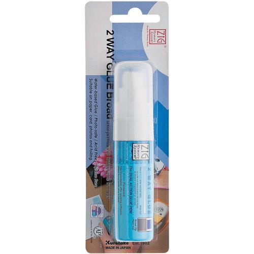Zig 2-Way Glue Pen Carded-Jumbo Tip