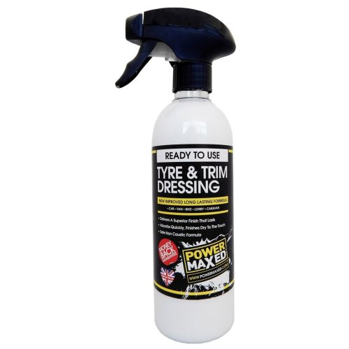 Power Maxed Tyre And Trim Dressing 500ml