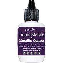 Ken Oliver Liquid Metals .5fl oz-Metallic Quartz