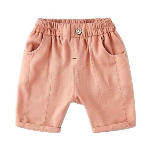 Baby Boy Short Pants Cute Short Pants for Summer Suitable for 130cm [E]