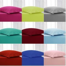 4 Foot Small Double Poly Cotton Fitted Bed Sheets Bed Linen
