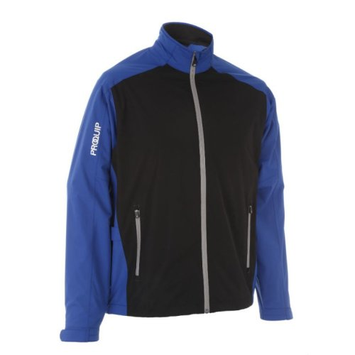 ProQuip Golf Mens Aquastorm PX1 Waterproof Rain Jacket Full Zip