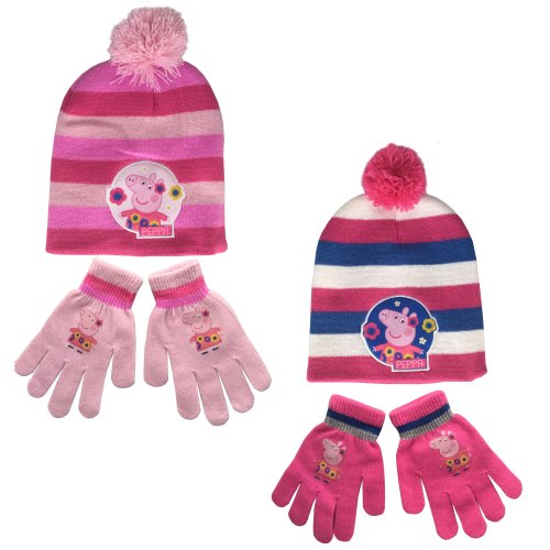 Peppa Pig Hat and Gloves