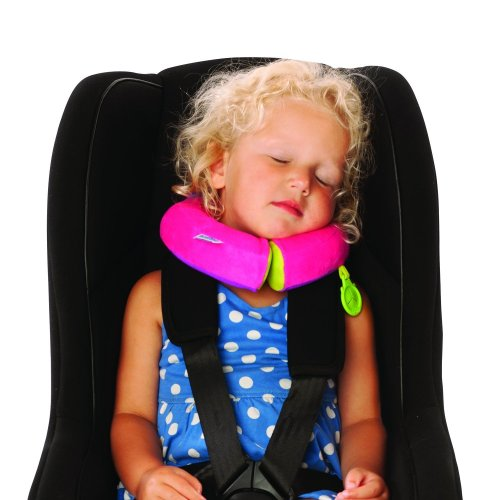 Trunki Yondi Travel Sleep Support Pillow - Betsy SMALL (Pink)