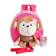 Korean Infant Knapsack Toddle Backpack Prevent From Getting Lose Monkey[A]