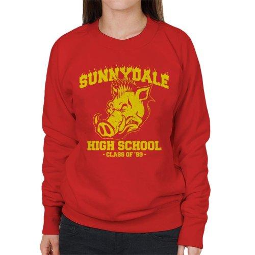 Buffy Inspired Sunnydale High School Women's Sweatshirt