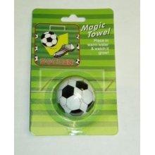 "Magic Towel Soccer Ball Shaped 12"""