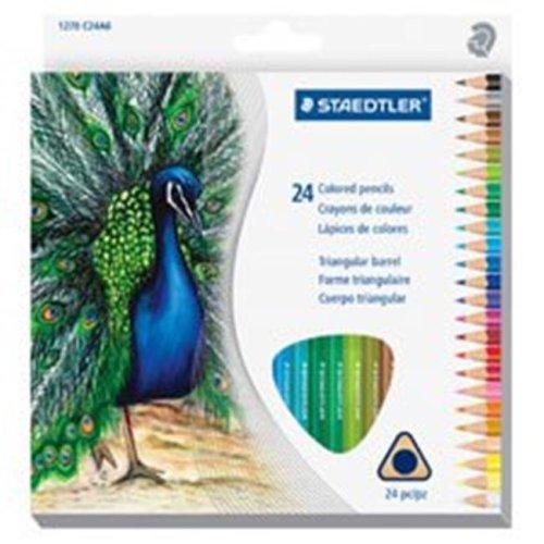 Staedtler STD1270C24A6 Tradition Color Pencil, Set of 24
