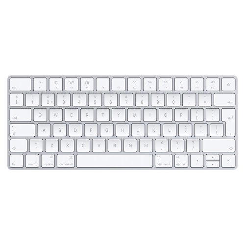 Apple MLA22 Bluetooth QWERTY English Silver,White keyboard